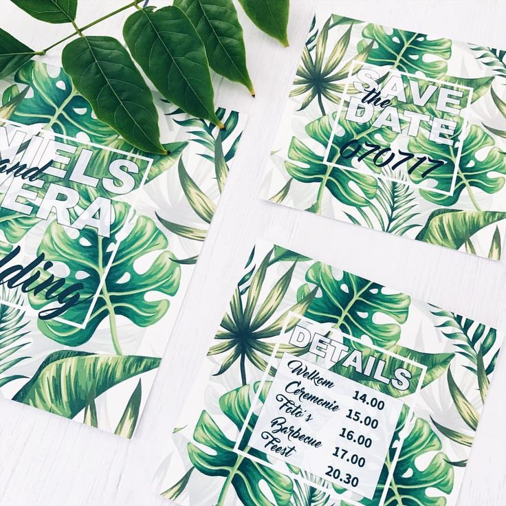 Weddingstationery • trouwkaart • Botanicalwedding • studiosproet