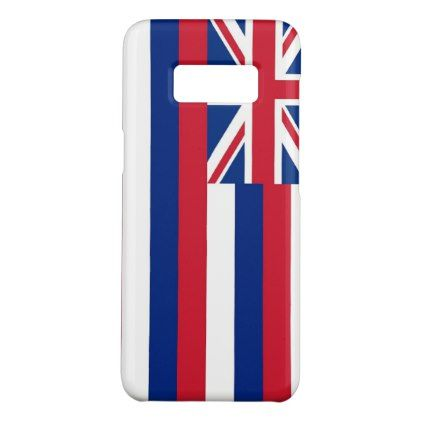 Samsung Galaxy S8 Case with Hawaii Flag - stylish gifts unique cool diy customize