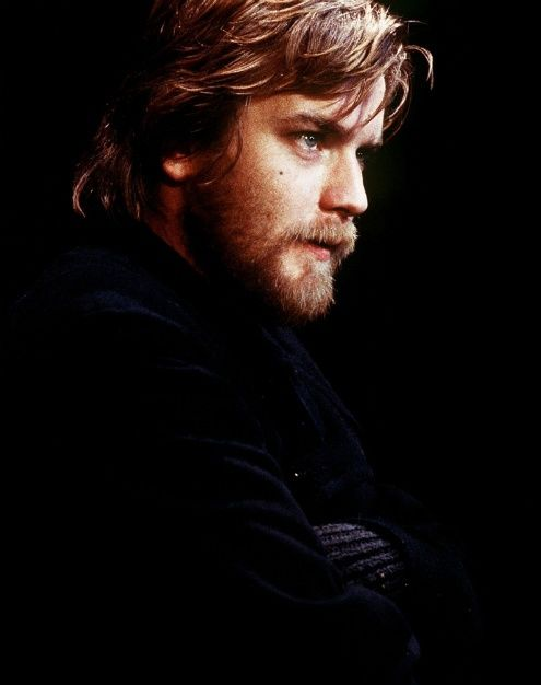 Ewan McGregor - we are related, probably 15th cousins! Poor guy ;-)