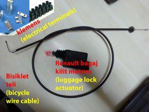 Honda NC700 / NC750 Otomatik Bagaj Açma sistemi [DIY]