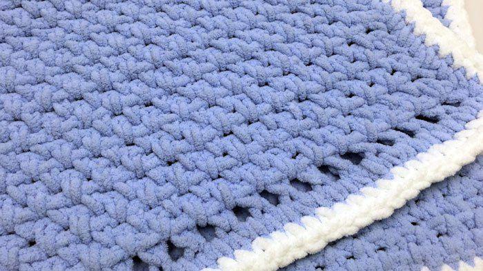 Crochet Baby Blanket For Beginners Tutorial Crochet