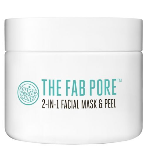 Soap and  Glory™ Fab Pore™ 2-in-1 Facial Pore Purifying Mask and  Peel - Boots