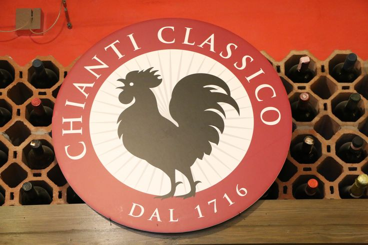 The symbol of a true Chianti wine.