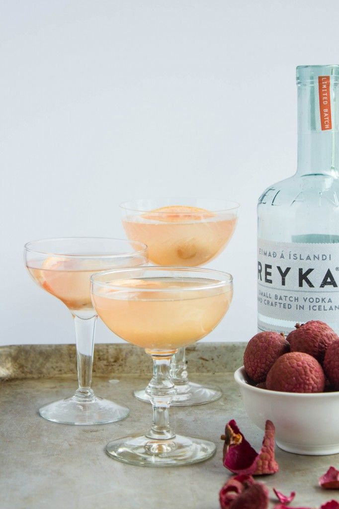Lychee Grapefruit Martini