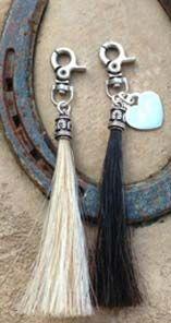 Tail Spin Bracelets - Tassels - Custom Horse Hair Jewelry @leslieamckinzie