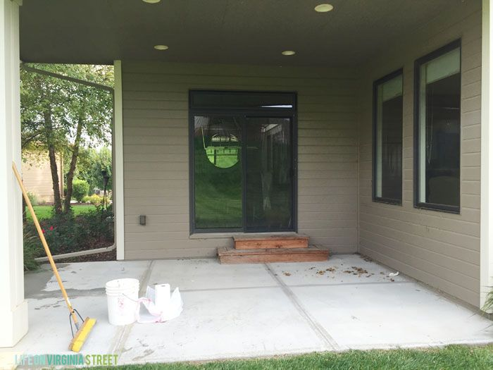 Best 25+ Painted Concrete Patios Ideas On Pinterest | Painting Concrete  Porch, Stained Concrete Porch And Stained Concrete