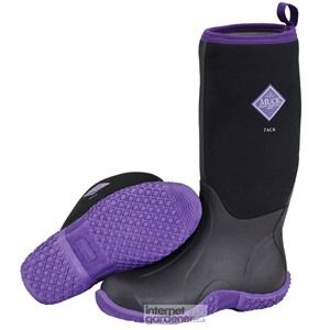 This is the new Muck Boot Classic Tack Black & Purple which is launched into the UK February 2014.