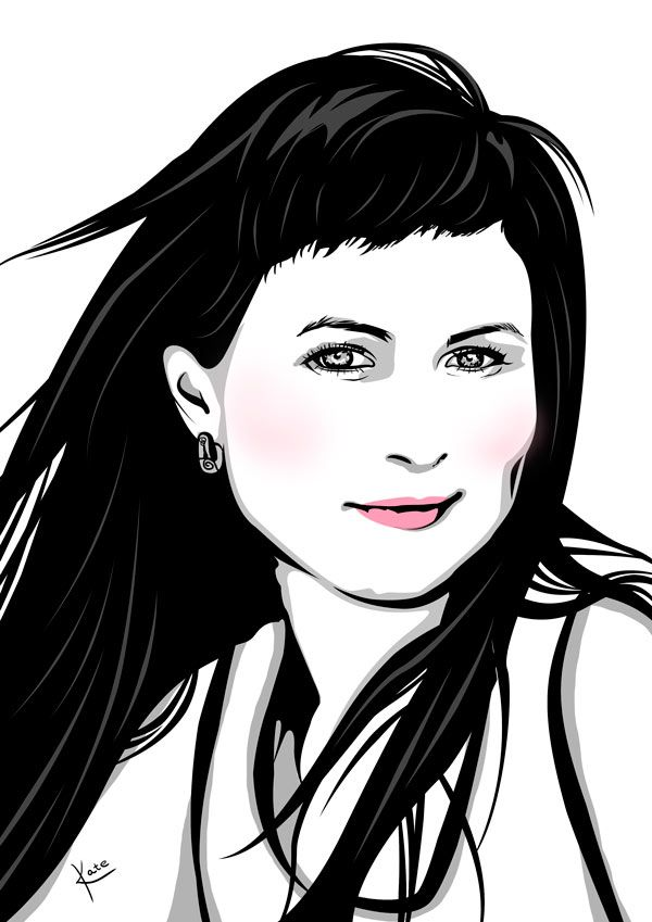 By Katerina Podolskaya drawing, portrait, girl, art, digital art / рисунок, портрет, девушка, диджитал арт