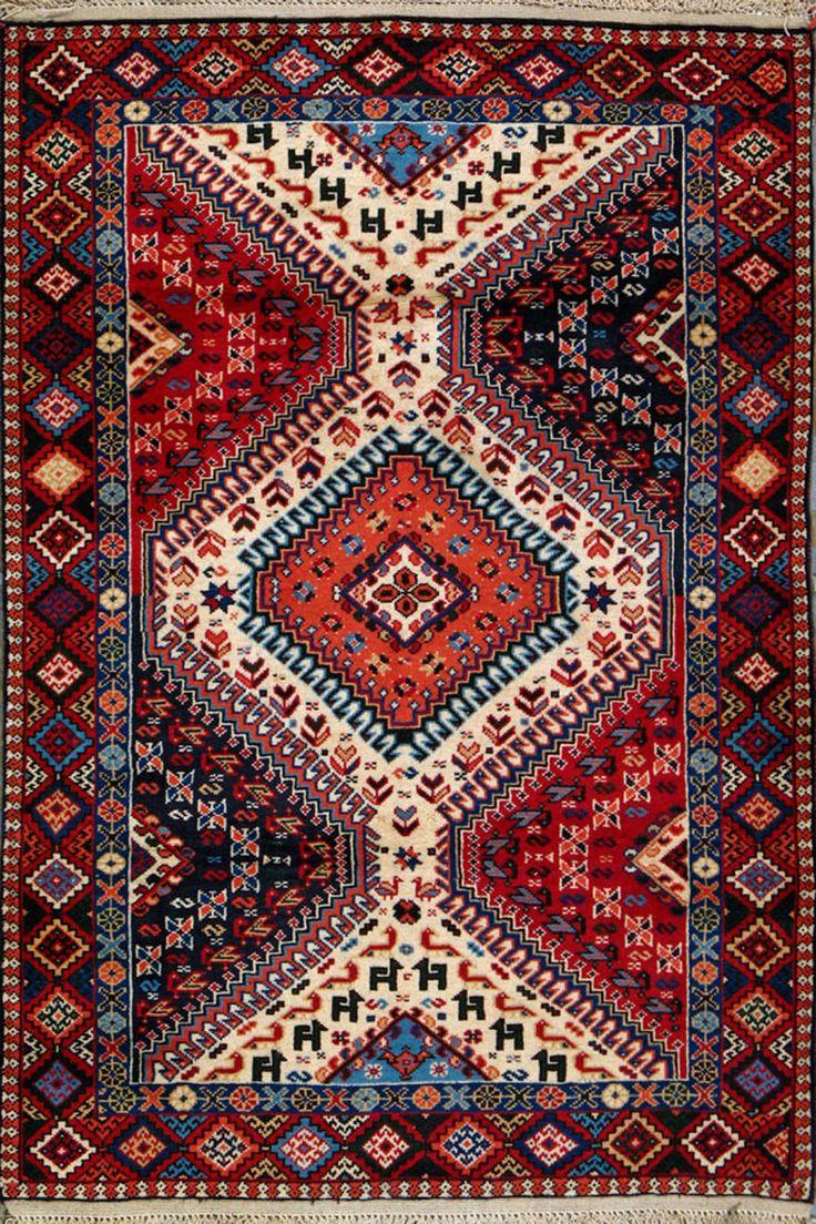 Yalameh Persian Rug 3 4 X 11 Authentic