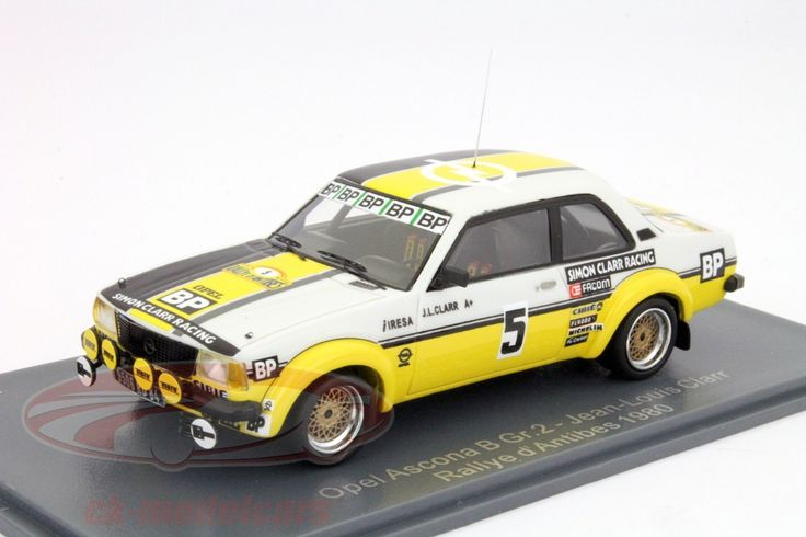 Opel Ascona B Gr.2, Rallye Antibes 1980, No.5, Jeans-Louis Clarr / J.F.Fauchille, Simon Clarr Racing Team. Neo, 1/43. Price (2016): 60 EUR.