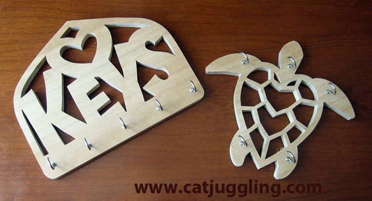 New Scroll Saw Patterns For Hanging Keys And Jewelry