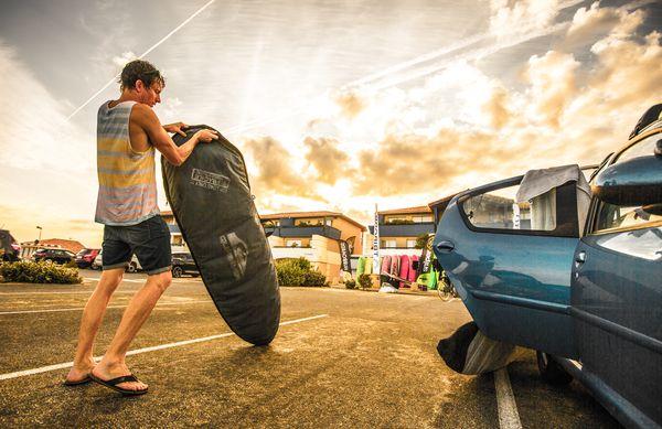 Surf sessions. Hot Summer Boogie 2014, Mimizan.