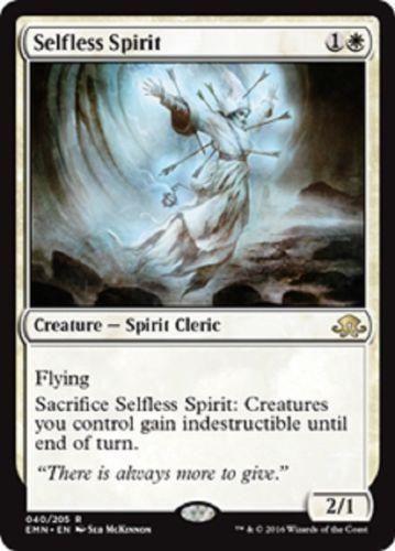 Selfless Spirit x1 Eldritch Moon, EMN RARE MAGIC NM UNPLAYED MTG