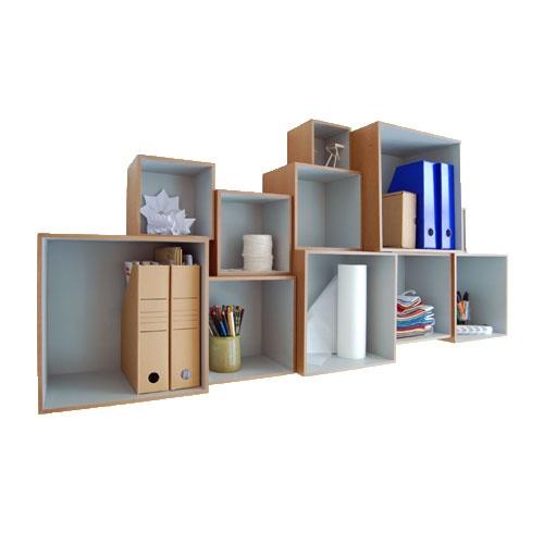 DESIGNDELICATESSEN - OK design - Babushka Boxes - reolsystem