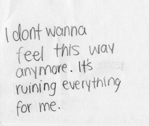 I need to change or I'll lose everything I hold closest to me