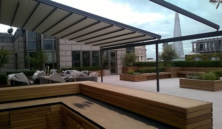 Commercial Retractable Roofs | Markilux Pergola & Gibus ...