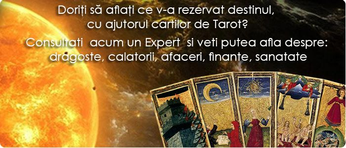 Consiliere in tarot prin - telefon, chat si email pe site-ul www.euniversum.com