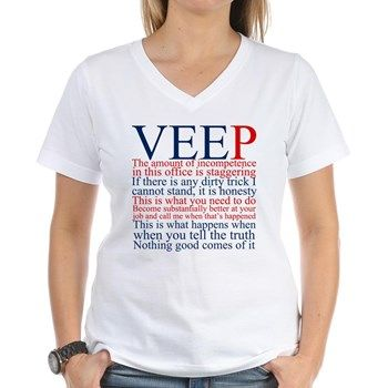 $24 Veep Quotes Shirt, Funny Veep tv show quotes in blue and red. Selina Meyer has some of my favorite political quotes as the vice president.