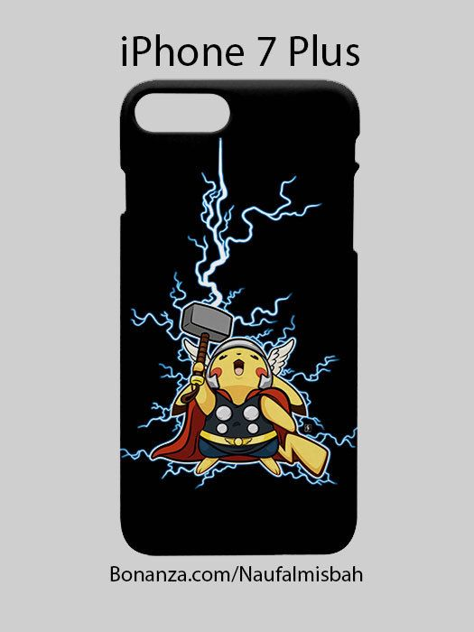 Pikachu Thor Marvel iPhone 7 PLUS Case Cover