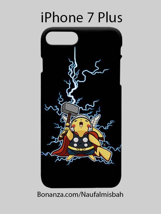 Pikachu Thor Marvel iPhone 7 PLUS Case Cover