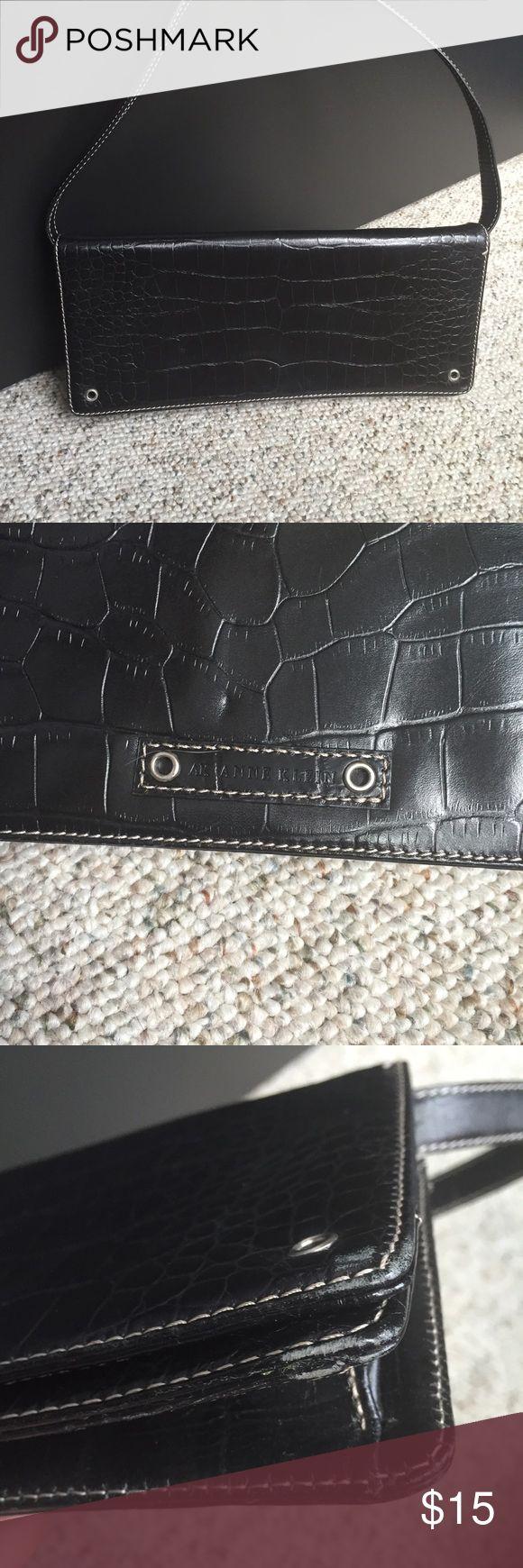 Anne Klein Bags - Anne Klein black rectangular purse