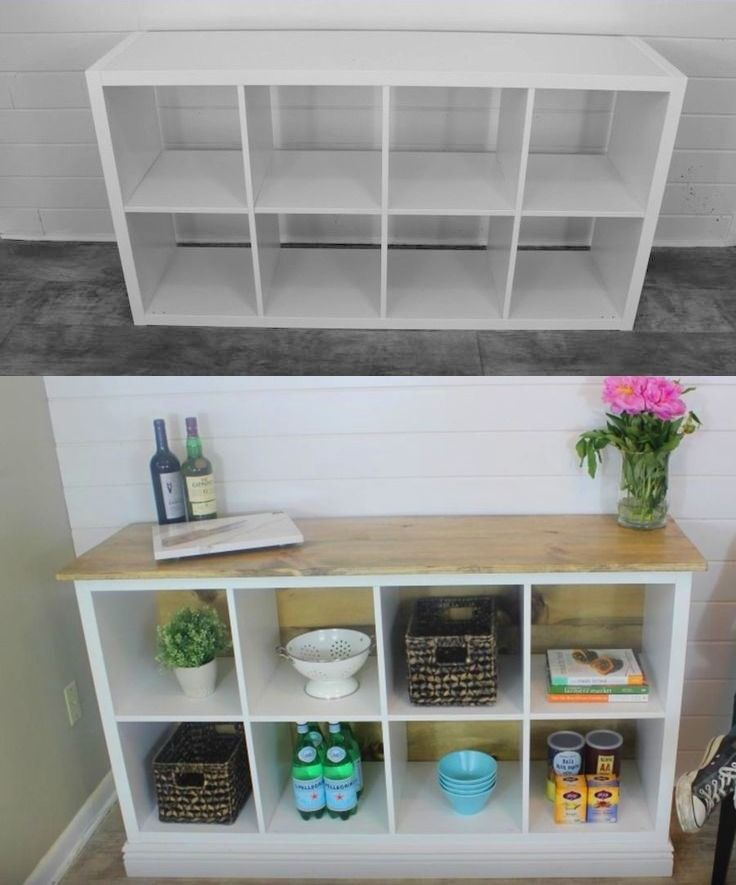 Before and After: Ikea Hack DIY Kitchen Island