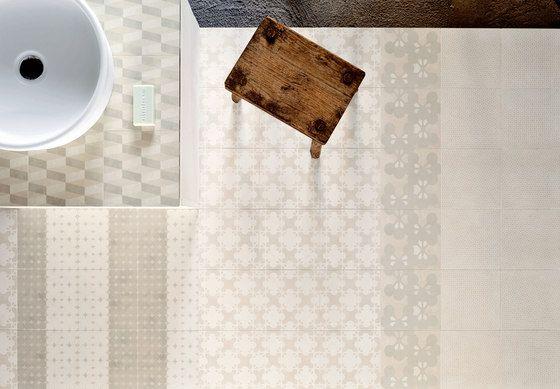 Azulej renda bianco de Ceramiche Mutina