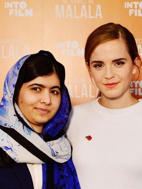 For Emma Watson and Malala Yousafzai, Feminism Means Equality. Article includes video of Emma Watson interviewing Malala Yousafzai