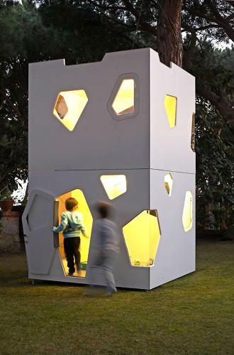 Catalão projeta casas infantis inspirado em arquitetos famosos