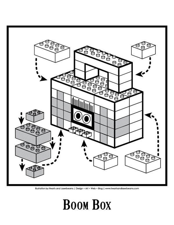 lego puzzle box instructions