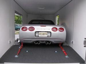 Corvette Aluminum Car Trailer by  Rance Aluminum