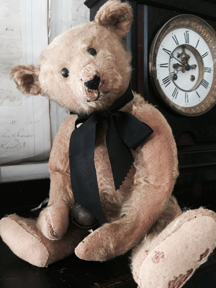 Steiff Bear, Antique teddy Bear, German Bear, Roosevelt Bear. by Eclecticpelican on Etsy https://www.etsy.com/listing/268168087/steiff-bear-antique-teddy-bear-german