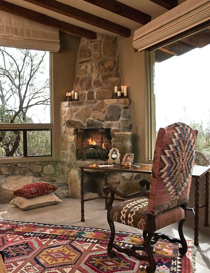 sophisticated southwest - love the chair!
