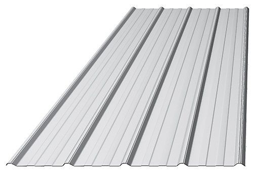 """Better Steel Makes Better Building Projects. WESTMAN's 36"""" coverage Galvanized Tough Rib in 29 Gauge is not only the most popular profile but it's also the toughest. This profile delivers the performance needed for both Agricultural and Commercial settings. It's traditional ribbed design also meets the architectural needs of commercial or institutional applications."""