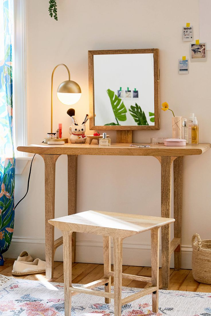 Urban Outfitters Wyatt Vanity | Furniture, Home decor ...