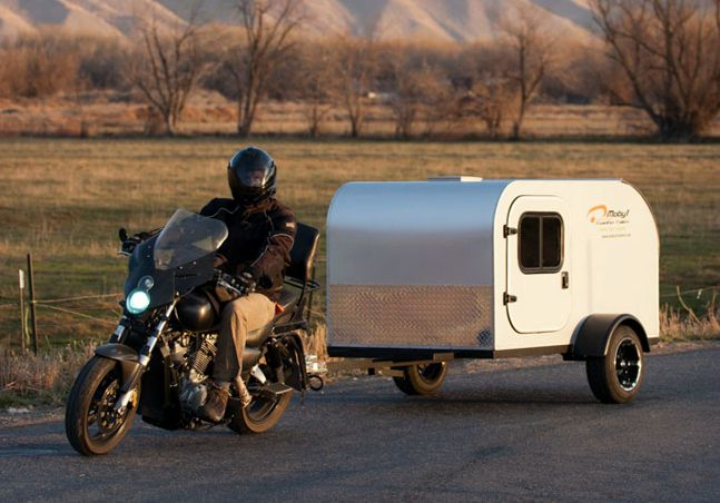 Moby1 C2 Motorcycle Trailer - $6500