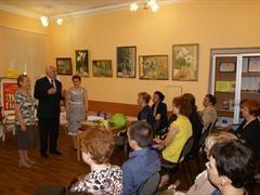 Центральная библиотека города Долгопрудный отметила свой 50-летний юбилей - http://artmoskovia.ru/tsentralnaya-biblioteka-goroda-dolgoprudnyiy-otmetila-svoy-50-letniy-yubiley.html - 28 мая 2015 г. 50-ый День рождения встретила Центральная библиотека города города Долгопрудного. На праздник были приглашены работн�