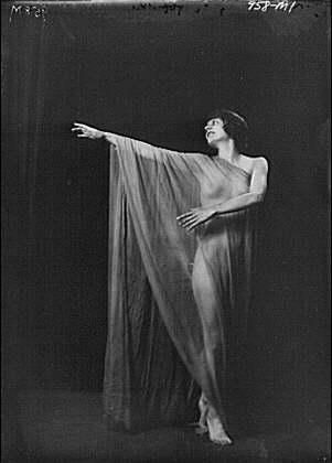 Isadora Duncan was fond of scarves and actually was killed when one of her trademark long scarves became entangled in the wheel spoke of the car she was in.