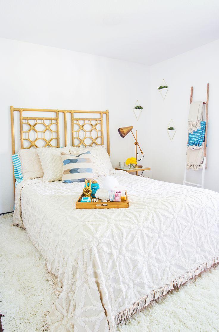 Beautiful bedroom dream catcher hippie hipster indie room sy - Emma S Guest Bedroom Makeover Working With Jossandmain