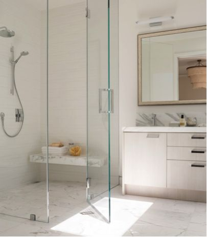 barrier free shower curbless shower design ideas pictures remodel and decor