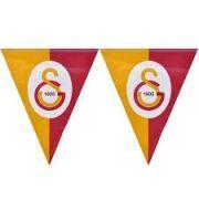 Galatasaray Doğum Günü Üçgen Bayrak Flama