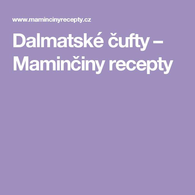 Dalmatské čufty – Maminčiny recepty