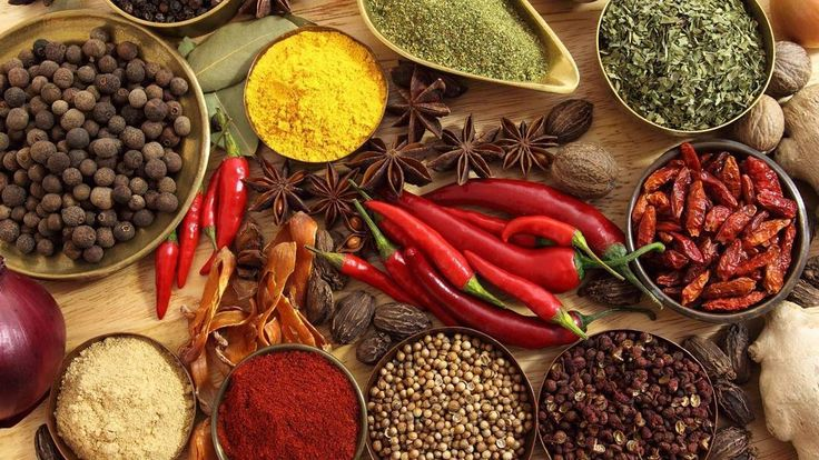 Herbs and Spices contain essential polyphenols and anti-oxidants benefits of which go beyond the flavour and aroma they impart! While herbs are generally plant parts and leaves spices come from the seeds berries and the bark. Regular use can help us stay in an active state of body and mind and help fight even chronic conditions related inflammation digestion and blood glucose levels. Embrace them in your daily meals :) . . . #herbs #spices #healthyfoods #cleaneating #instasg #chilli…