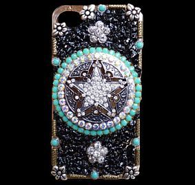 Cowgirl Bling Rhinestone Cell Phone Case