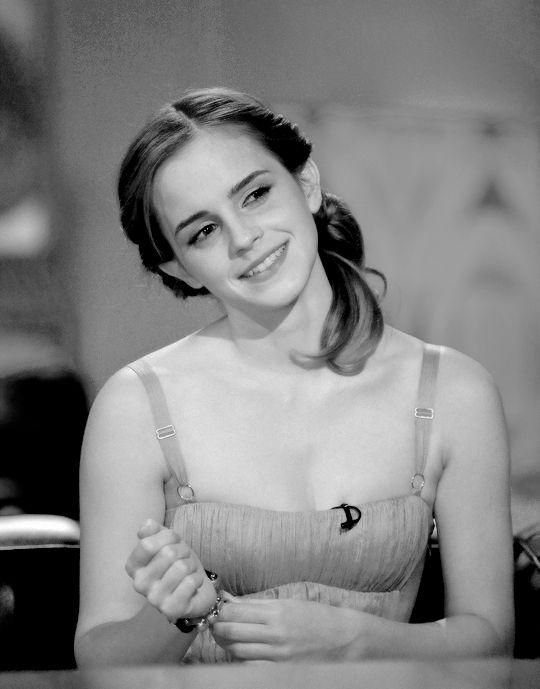 Emma Watson attending the Friday Night with Jonathan Ross (2009)