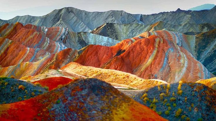 18 Best Images About Rainbow Mountains On Pinterest