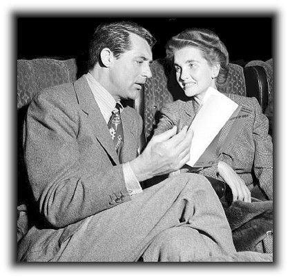 Cary Grant and Barbara Hutton married July 8, 1942 - July 11, 1945  (via The Ultimate Cary Grant Pages - Cary Grant's Wives)