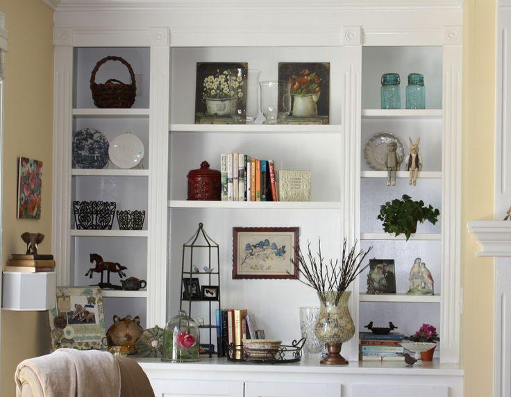 interior design shelves - 1000+ images about Moms book shelves on Pinterest Wall units ...
