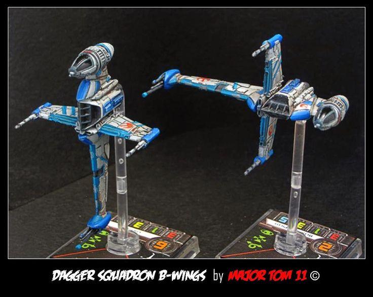 Star Wars X-Wing Miniatures | Dagger Squadron B-Wings