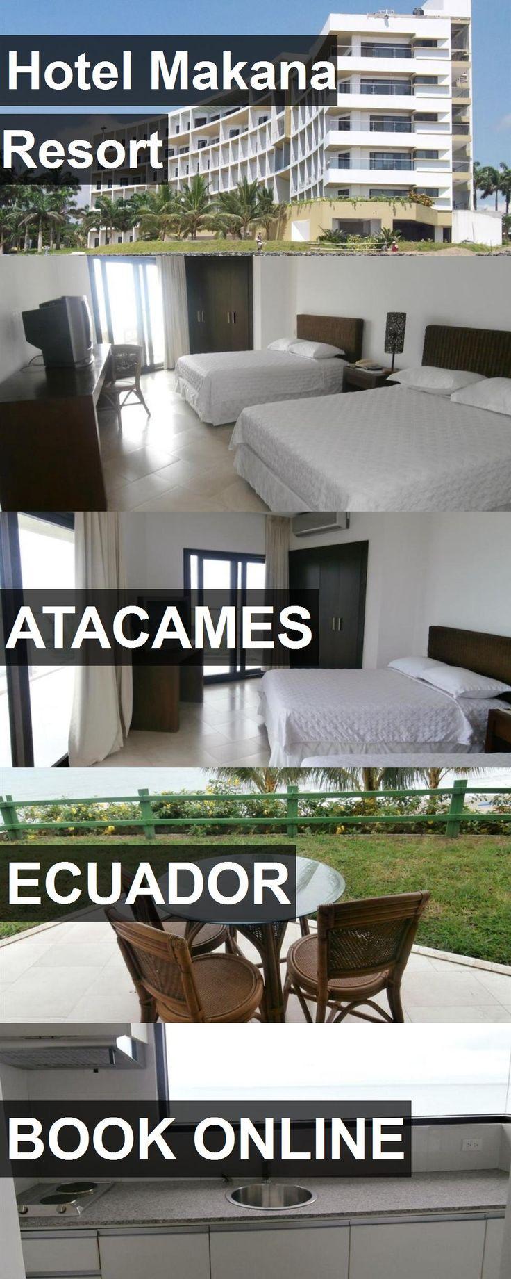 Hotel Makana Resort in Atacames, Ecuador. For more information, photos, reviews and best prices please follow the link. #Ecuador #Atacames #travel #vacation #hotel